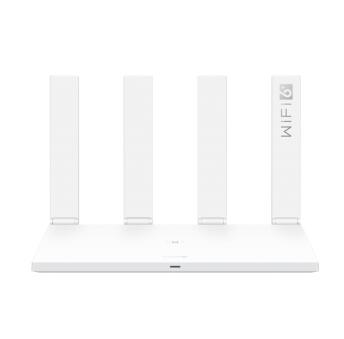 HUAWEI 华为 AX3 3000M WiFi 6 家用路由器 白色