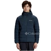 Columbia 哥伦比亚 男士户外羽绒衣裤 WE1511-494 藏蓝色 L