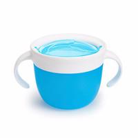 munchkin 满趣健 10789 儿童防漏零食杯 蓝色