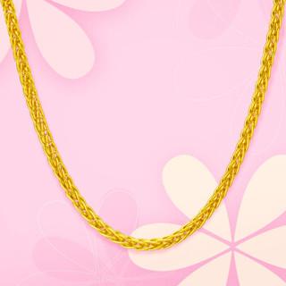 周大福  F172885 肖邦链 黄金项链