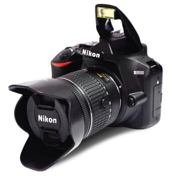 尼康(Nikon)D3500 数码单反相机 入门级高清数码家用旅游照相机 D3400升级版 尼康AF-P 18-55套机(新手初学推荐) 标配买就送实用大礼包