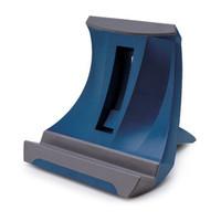 安尚ACTTO笔记本升降增高桌面平板电脑商务办公人体工学多角度调节支架散热器NBS-03 蓝色(NBS-03)