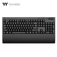 TT 曜越 G821 德国原厂Cherry 茶轴 无线2.4G蓝牙有线多模电竞机械键盘(樱桃轴/三模连接/PBT键帽/手托)