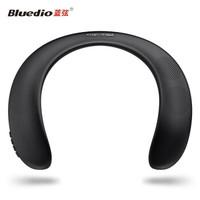 蓝弦(Bluedio) HS无线蓝牙音箱便携音响颈挂式音箱重低音插卡FM音箱重低音小钢炮 黑色