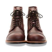 RED WING 红翼 AMBER HARNESS 男士工装靴 8111 棕色 43