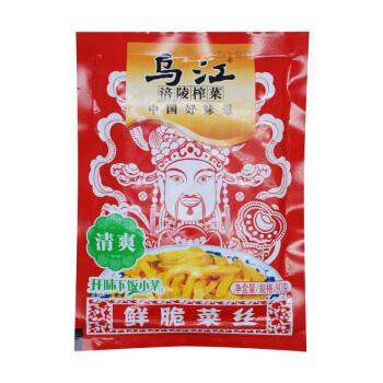 乌江 涪陵榨菜 鲜脆菜丝 80g*10袋