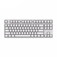 GANSS 迦斯 GS87C 无线机械键盘 87键 无光版 Cherry青轴 白色