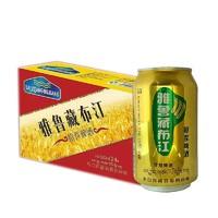 雅鲁藏布江 原浆精酿啤酒 320ml*12听