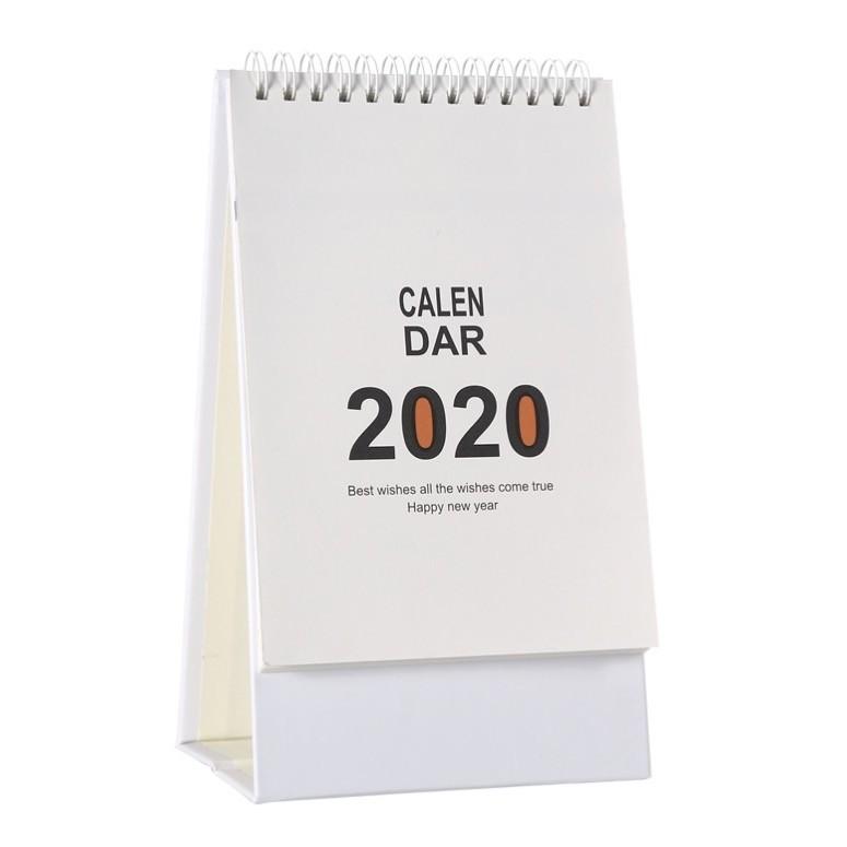 佳周 2020年台历计划本 竖版