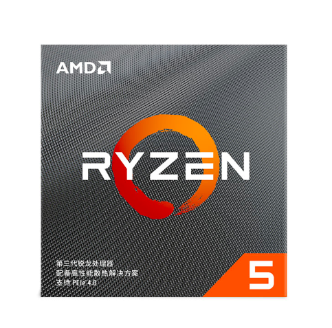 AMD 锐龙系列 R5-3600 CPU处理器 6核12线程 3.6GHz