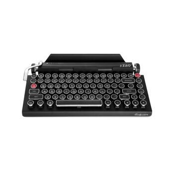京东京造&Qwerkywriter 2代复古打字机键盘 蓝牙无线机械键盘  84键cherry青轴