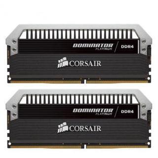 美商海盗船(USCORSAIR)DDR4 3200 16GB(8G×2)套装 台式机内存条 统治者铂金 高端游戏型