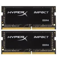 Kingston 金士顿 骇客神条 Impact系列 16GB(8GB×2) DDR4 2400 笔记本内存条