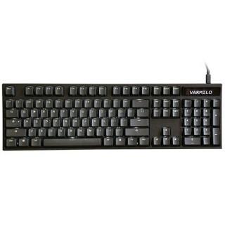 Varmilo 阿米洛 VA104C-S 104键 计算器透光版本 机械键盘 Cherry轴