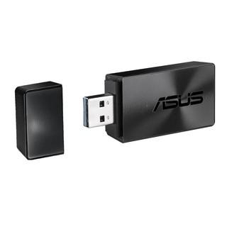 ASUS 华硕 USB-AC57 双频1300M 台式机笔记本通用 随身wifi接收器 支持MU-MIMO低辐射USB3.0无线网卡