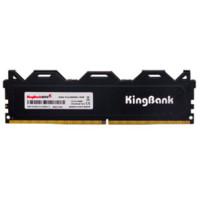 粉丝价 : KINGBANK 金百达 黑爵系列 DDR4 2666 台式机内存条 16GB
