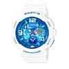 CASIO 卡西欧 BABY-G系列 BGA-190GL-7B 女款天空之眼石英手表 44.3mm 树脂表带 蓝色表盘 圆形