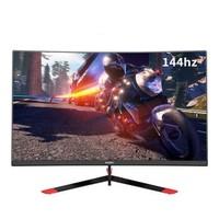 游戏悍将 27英寸144hz显示器电脑游戏吃鸡主机办公家用高清显示屏 CK27FC