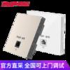 锐捷(Ruijie)千兆路由器 企业级VPN上网行为管理路由RG-EG210G-P AC无线控制器 可选ap-86面板千兆RG-EAP102