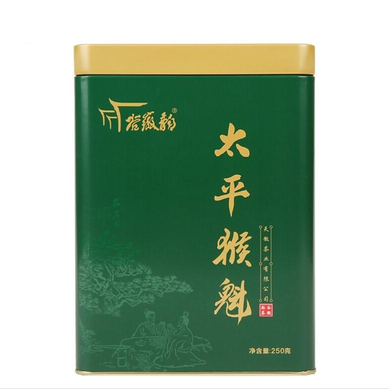 谷徽韵 太平猴魁 雨前特级绿茶 250g *3件