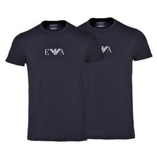 EMPORIO ARMANI 91935 男士薄款短袖T恤 2件装