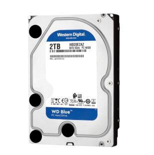 Western Digital 西部数据 蓝盘 台式机硬盘 2TB 256MB 5400rpm WD20EZAZ