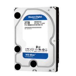 Western Digital 西部数据 蓝盘 台式机硬盘 2TB 256MB 54