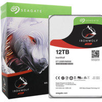 SEAGATE 希捷 酷狼IronWolf系列 3.5英寸NAS硬盘 12TB 256MB(7200rpm、PMR)ST12000VN0008