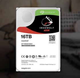 SEAGATE 希捷 酷狼IronWolf  NAS硬盘 16TB 7200rpm 256MB ST16000VN001