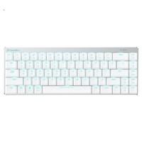 达尔优(dareu)EK820 68/87键 机械游戏 有线无线(蓝牙键盘 双模键盘 家用办公) 白色红轴矮轴【68键双模】