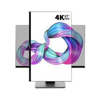 优派 27英寸显示器 4K超高清 IPS HDR400 120%sRGB 旋转升降可壁挂办公 ps4电脑显示器VX2780-4K-HD-2