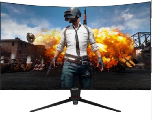 微软之星 31.5英寸 三星1500R曲面屏 游戏电竞165Hz显示器 爱眼不闪屏 电脑液晶显示器屏 GQ32L