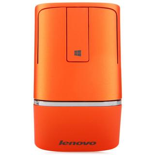 联想(Lenovo) N700 win8超薄无线鼠标 双模触控 2.4G 蓝牙4.0 带激光笔功能 黑色 蓝牙鼠标