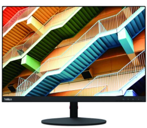 联想 ThinkVision T25m 25英寸 纤薄窄边框 双向旋转升降 可壁挂 电脑显示器(HDMI/DP/Type-C接口)