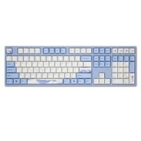 Varmilo 阿米洛 VA108 海韵 108键 有线机械键盘 蓝白色 Cherry红轴 无光