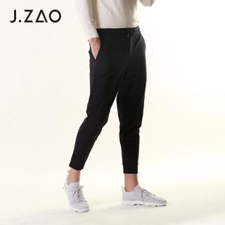 京东京造 J.ZAO 男士针织束脚休闲裤