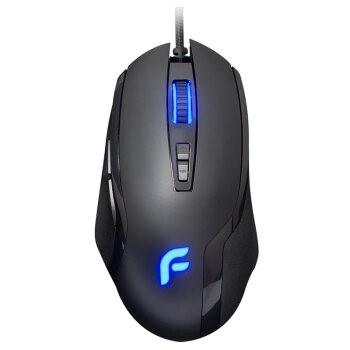 迪摩(DEARMO)F22有线鼠标游戏鼠标电竞鼠标绝地求生吃鸡鼠标7键宏定义鼠标 黑色 6000DPI 自营