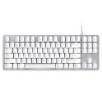 雷蛇(Razer)黑寡妇蜘蛛轻装版 水银 雷蛇橙轴白色背光 有线电脑办公游戏机械键盘
