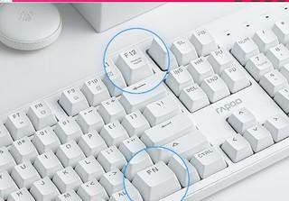 狼蛛(AULA)F2088 机械键盘 有线键盘 游戏键盘 104键背光混光朋克 电脑键盘 笔记本键盘 银白圆键 黑轴