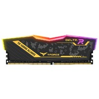 31日0点:Team 十铨 T-FORCE DELTA TUF Gaming RGB DDR4 3000 台式机内存条 16GB