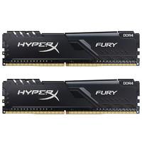 金士顿(Kingston) DDR4 3733 32GB(16G×2)套装 台式机内存条 骇客神条 Fury雷电系列