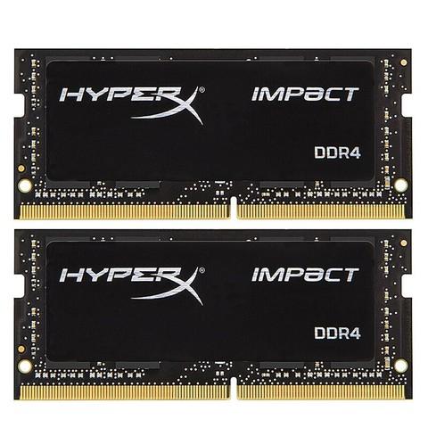 Kingston 金士顿 Hyperx 骇客神条 Impact系列 DDR4 2666MHz 笔记本内存 16GB(8GBx2)