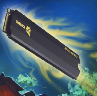 HIKVISION 海康威视 CRUIS 固态硬盘 256GB M.2接口 (NVMe协议) C2000 Pro