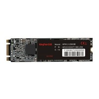 KingFast 金速 M.2 2280固态硬盘  固态硬盘 256GB M.2接口 (SATA总线) KFM.2 256GB
