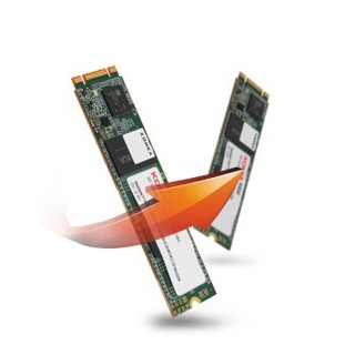 KONKA 康佳 K520 固态硬盘 M.2接口 (SATA总线) 3D NAND SATA SSD M.2 2280