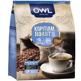 猫头鹰(OWL) 袋泡三合一原味咖啡 450g *5件