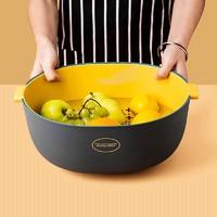 大牌小物 家用洗菜盆双层沥水篮