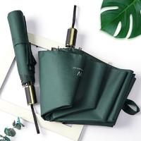 HAGGIS 德国精工商务黑胶雨伞 绿色