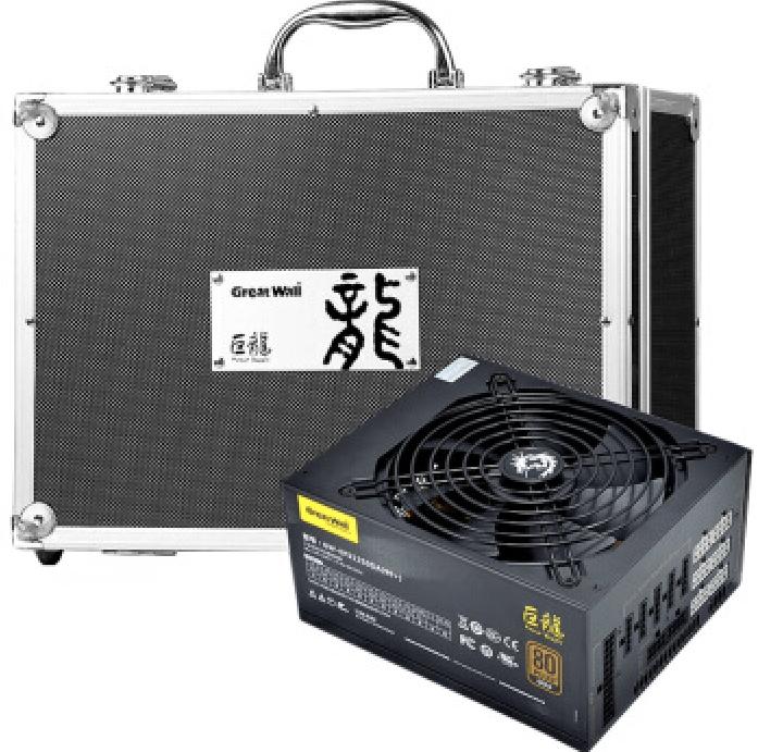 Great Wall 长城 巨龙 GW-EPS1000DA 额定1000W 电源(80PLUS金牌/全模组)
