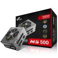 全汉(FSP)额定500W 经典版MS500 电源 (SFX电源/铜牌认证/五年质保/全模组/温控风扇/固态电容/DC-DC)